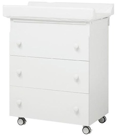 Erbesi Sonia Changing Table White