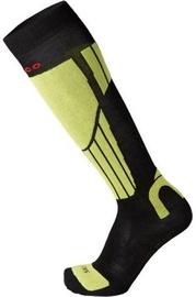 Mico Natural Ski Sock Light Black/Green 38-40
