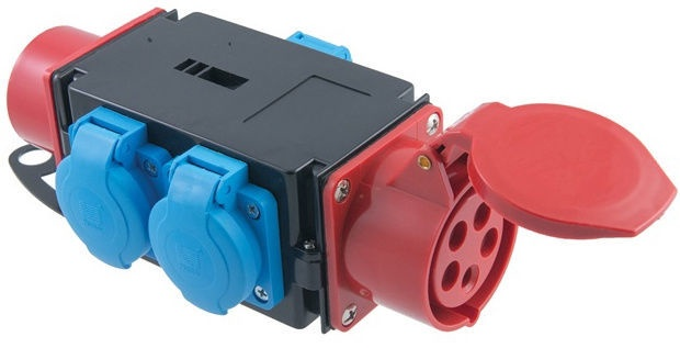 Skirstytuvas Pawbol R-BOX MINI 3S, 1x16A/5p + 3x16A/250V, IP44
