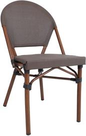 Home4you Bambus Garden Chair Brown