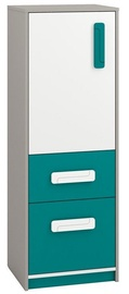 ML Meble Chest Of Drawers IQ 08 Turquoise