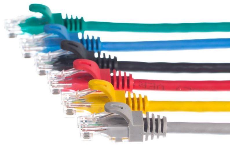 Netrack CAT 5e UTP Patch Cable Black 15 m