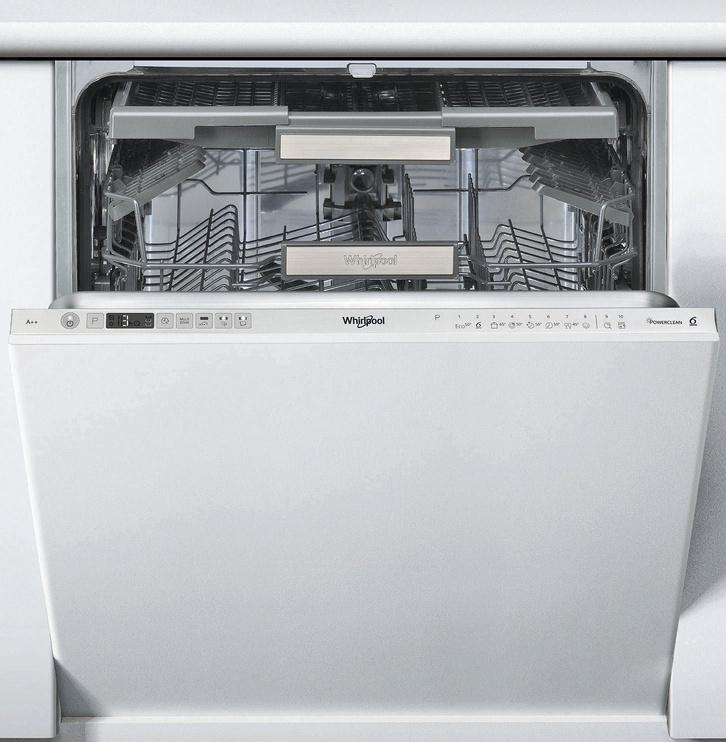 Įmontuojama indaplovė Whirlpool WIO3P23PL