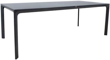 Садовый стол Home4you Tomson 19126, серый, 220 x 100 x 75 см