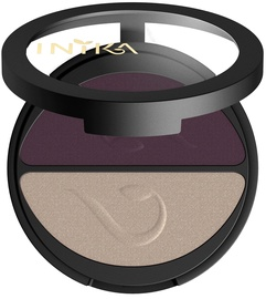 Inika Pressed Mineral Eye Shadow Duos 3.9g Plum Pearl
