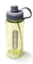 Бутылка для воды Fissman, синий/желтый, 1.2 л