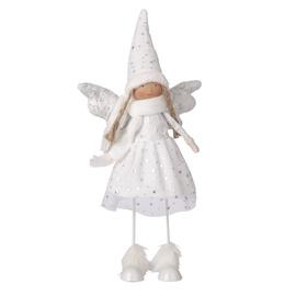 Standing Angel Maria White 42cm