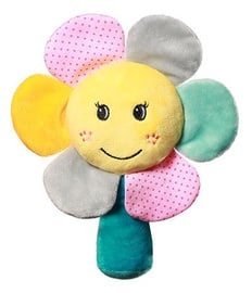 BabyOno Baby Rattle Rainbow Flower