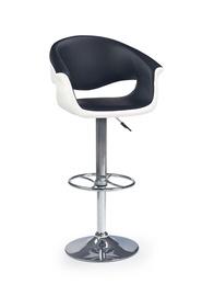 Baro kėdė Halmar H-46 White/Black, 1 vnt.