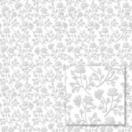 Flizelino pagrindo tapetas Sintra 352205 Mixing, rusvas su smulkiomis gėlėmis