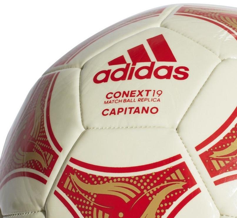Adidas Conext 19 Capitano White/Red Size 4
