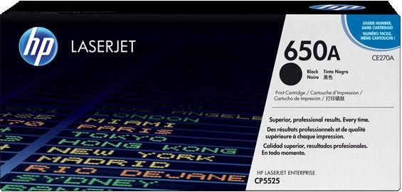 Lazerinio spausdintuvo kasetė HP Toner CE270AC Black