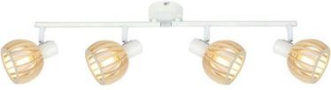 Candellux Spotlight ATARRI 94-68101 White/Wood