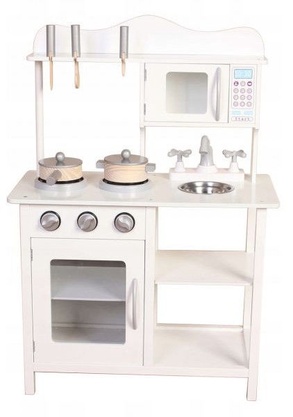 EcoToys Wooden Kitchen TK040 white