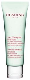 Makiažo valiklis Clarins Gentle Foaming Cleanser With Tamarind, 125 ml
