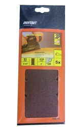 Keturkampis šlifavimo lapelis Vagner SDH 108.31, Nr. 180, 230x93 mm, 5 vnt.