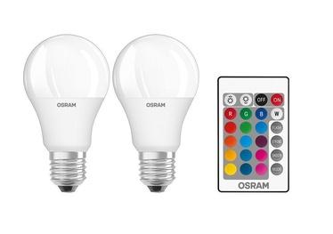 Lampa led Osram A60, 9W, E27, 2700K, 806lm, RGB