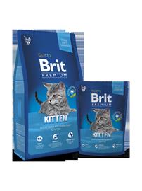 Brit Cat Food Kitten Premium Chicken 300g