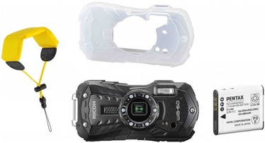Seikluskaamera Ricoh WG-60 Black with Battery/Cover/Wrist Band