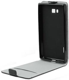 Forcell Flexi Slim Flip Vertical Case Samsung SM-915 Galaxy Note Edge Black