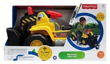 Bērnu rotaļu mašīnīte Jakks Pacific Fisher Price, dzeltena