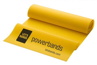 Let's Bands Powerband Flex Light Yellow