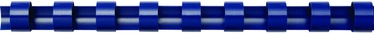 Fellowes Binding Comb 12mm 100 Blue