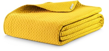 Gultas pārklājs AmeliaHome Carmen Honey Yellow, 260x240 cm