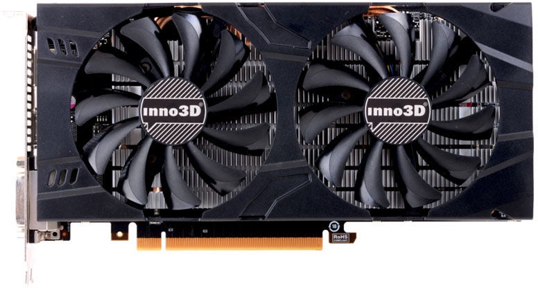 Inno3D GeForce GTX 1060 Twin X2 3GB GDDR5 PCIE N106F-2SDN-L5GS