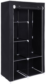 Songmics Wardrobe Black 170x88cm