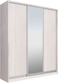 Garant-NV Wardrobe w/ 3 Sliding Doors & 2 Drawers 200x240x60cm Light Ash