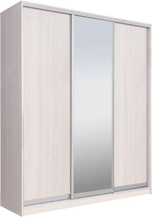 Garant-NV Wardrobe w/ 3 Sliding Doors & 2 Drawers 200x240x60cm Light Ash