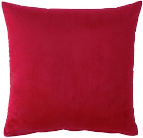 Декоративная подушка Home4you Holly, красный, 450 мм x 450 мм