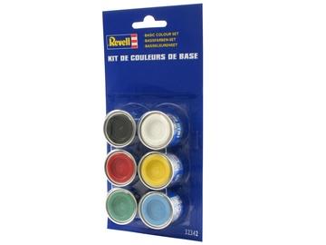 Revell Ecolabel Basic Colour Set 6pcs