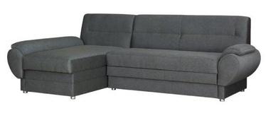 Kampinė sofa Bodzio Livonia Gray, kairinė, 248 x 155 x 89 cm