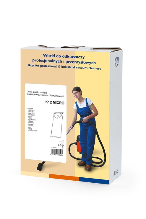 Мешок для пыли K&M K12 Micro, 4 шт.