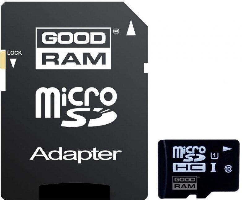 Goodram 8GB Micro SDHC UHS-I Class 10 + Adapter