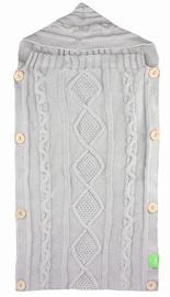 Lulando Knitted Sleeping Bag Grey 70x35cm