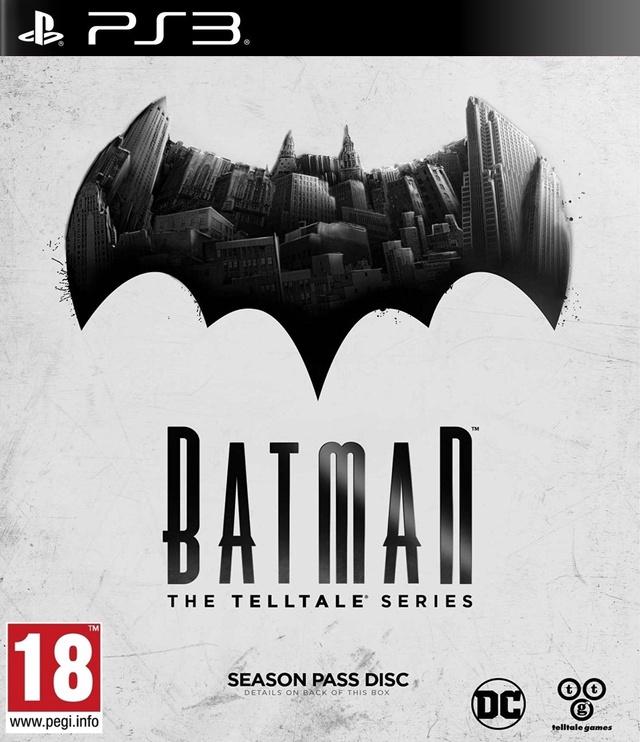 Batman: The Telltale Series Season Pass Disc PS3
