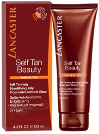 Lancaster Self Tanning Beautifying Jelly For Face & Body 150ml Light