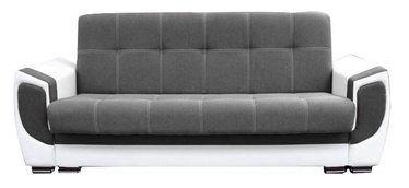 Sofa-lova Idzczak Meble Delux White/Grey, 237 x 93 x 95 cm