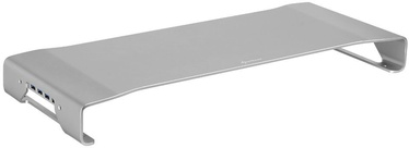Sharkoon Aluminium Monitor Stand Pro Silver