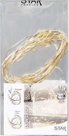 Star Trading Light Chain Dew Drop White 80cm