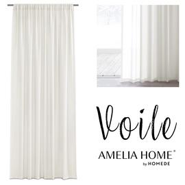 Dienas aizkari AmeliaHome Voile, bēša, 1600 mm x 3000 mm