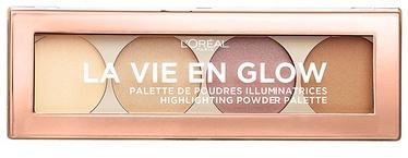 L´Oreal Paris La Vie En Glow Contour & Highlight Palette 5g 01