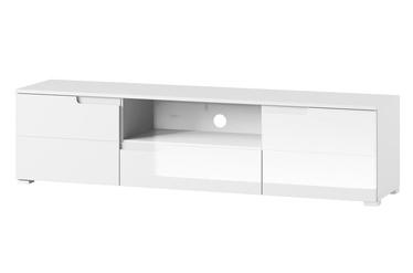 TV staliukas Szynaka Meble Selene White, 1650x420x390 mm