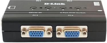 KVM komutaator (KVM Switch) D-Link DKVM-4K/B