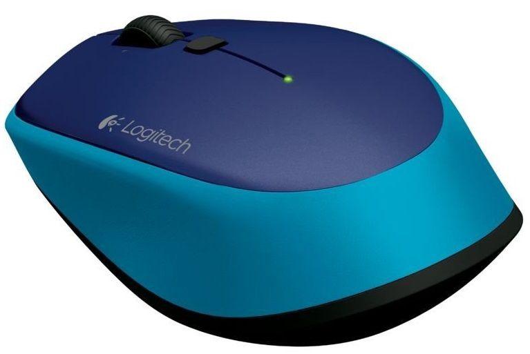 Kompiuterio pelė Logitech M335 Blue, bevielė, optinė