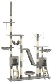 Когтеточка для кота VLX Cat Tree, 1470x350x2500 мм