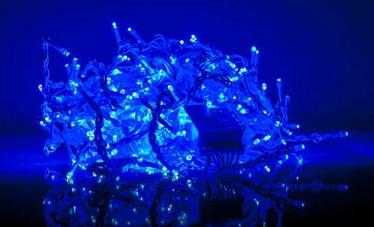 Elektriskā virtene EV LED 200 Rain, zila, 9 m